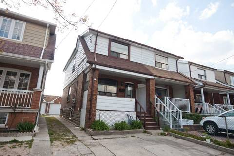 Townhouse for rent at 164 Prescott Ave Unit Main Fl Toronto Ontario - MLS: W4732062