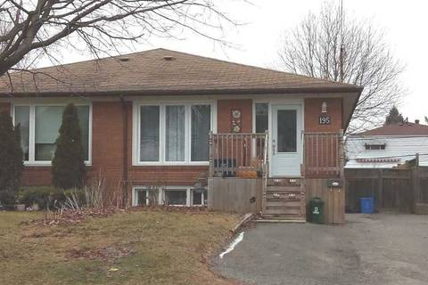 Townhouse for rent at 195 Waverly St Unit Main Fl Oshawa Ontario - MLS: E4736045