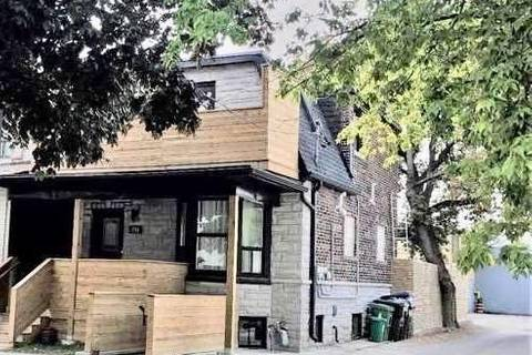 Townhouse for rent at 336 Campbell Ave Unit Main Fl Toronto Ontario - MLS: W4394072