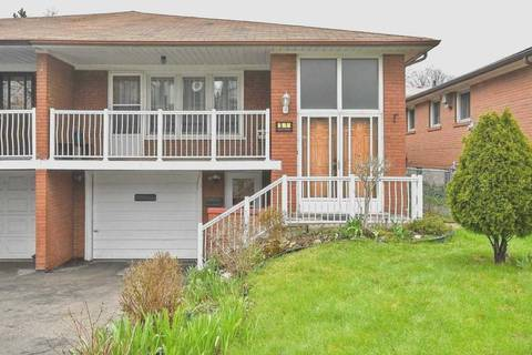 Townhouse for rent at 51 Wilkinson Dr Unit Main Fl Toronto Ontario - MLS: C4649957