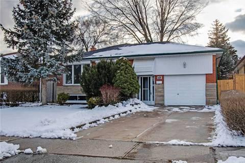 House for rent at 63 Rhinestone Dr Unit Main Fl Toronto Ontario - MLS: W4690726
