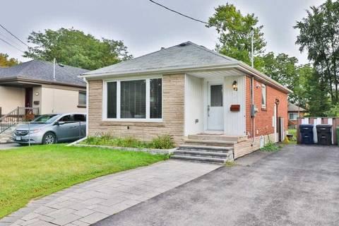 House for rent at 73 Savona Dr Unit Main Fl Toronto Ontario - MLS: W4580524