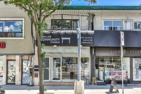 Commercial property for lease at 879 St. Clair Ave Apartment Main/Lw Toronto Ontario - MLS: C4507110