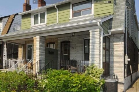 Townhouse for rent at 33 Glebemount Ave Unit Main/Up Toronto Ontario - MLS: E5076646