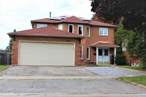 House for rent at 40 Raiford St Unit Mainflr Aurora Ontario - MLS: N4927635