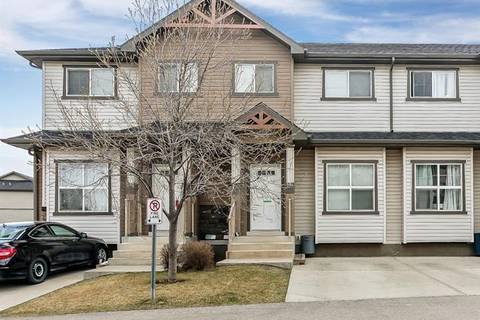 Townhouse for sale at 104 Ranch Ridge Meadow Unit Md Strathmore Alberta - MLS: C4242339