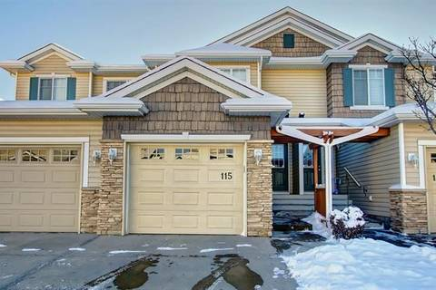 Townhouse for sale at 115 Royal Birch Mount Northwest Unit Mt Calgary Alberta - MLS: C4276537