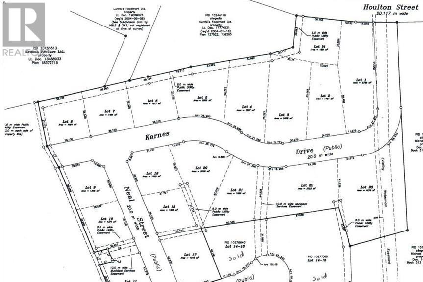 Residential property for sale at n/a Karnes Dr Woodstock New Brunswick - MLS: NB049564