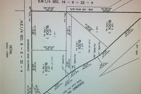 Residential property for sale at 0 Highway 3  Coalhurst Alberta - MLS: LD0140492