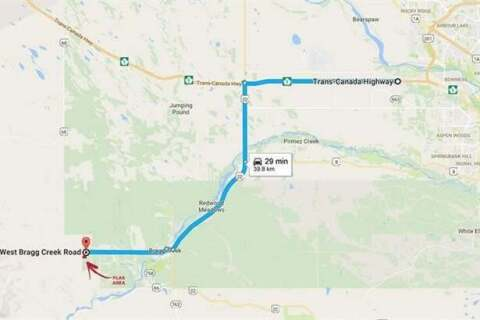 Residential property for sale at NULL Null  Bragg Creek Alberta - MLS: C4255939