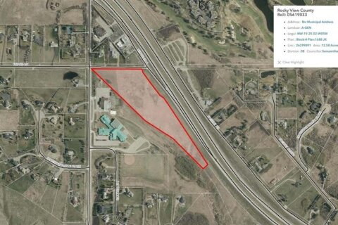 Residential property for sale at NULL Null  Rural Rocky View County Alberta - MLS: A1033922