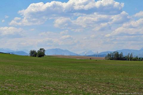 Residential property for sale at 0 Highway 507  Rural Pincher Creek Md Alberta - MLS: LD0171015