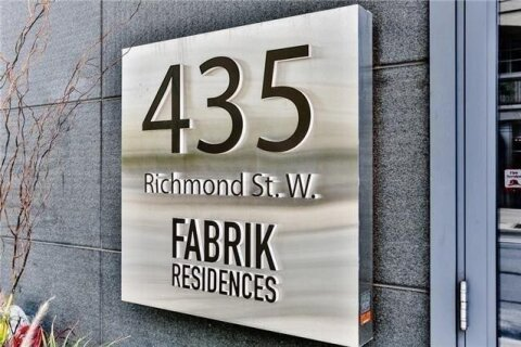 Home for sale at 435 Richmond St Unit Parking Toronto Ontario - MLS: C4986692
