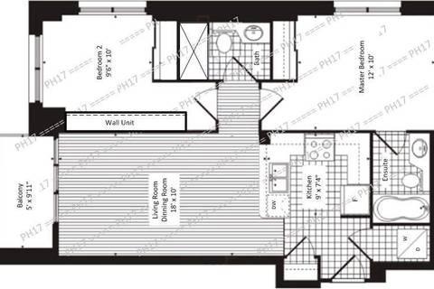 Apartment for rent at 319 Merton St Unit Ph17 Toronto Ontario - MLS: C4682995