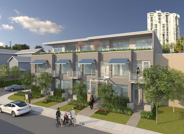 Buliding: 1591 Bowser Avenue, North Vancouver, BC
