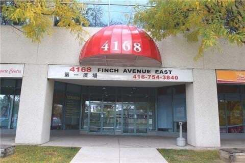 Commercial property for lease at 4168 Finch Ave Apartment Ph75&76 Toronto Ontario - MLS: E4771120