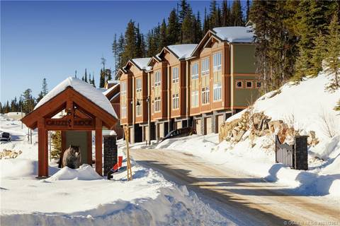 Townhouse for sale at 210 Grizzly Ridge Tr Unit #Proposed Big White British Columbia - MLS: 10172461