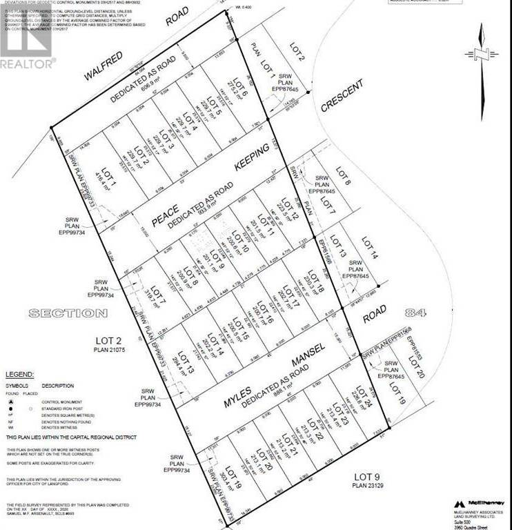 Residential property for sale at 20 Myles Mansell Rd Unit Proposed-Lot Victoria British Columbia - MLS: 421289
