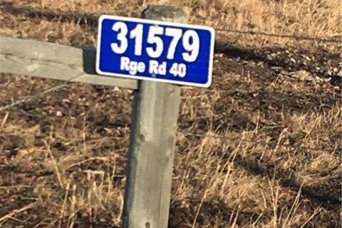 Home for sale at  Rge Rd 4.0  Didsbury Alberta - MLS: C4217957