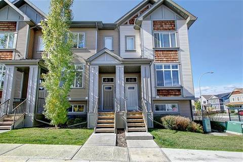Townhouse for sale at 101 Copperpond Rw Southeast Unit Ro Calgary Alberta - MLS: C4270503