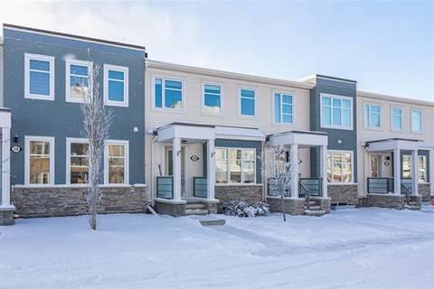 Townhouse for sale at 20 Cityscape Rw Northeast Unit Ro Calgary Alberta - MLS: C4289442