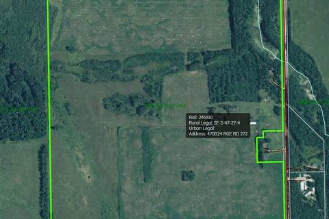 Residential property for sale at  Rr1 Falun  Rural Wetaskiwin County Alberta - MLS: E4166112
