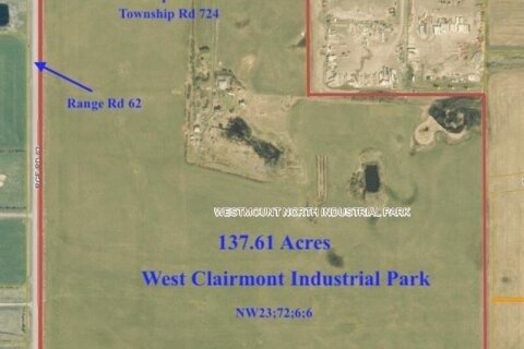 Residential property for sale at RR62 Twp Rd 724  Clairmont Alberta - MLS: A1034386