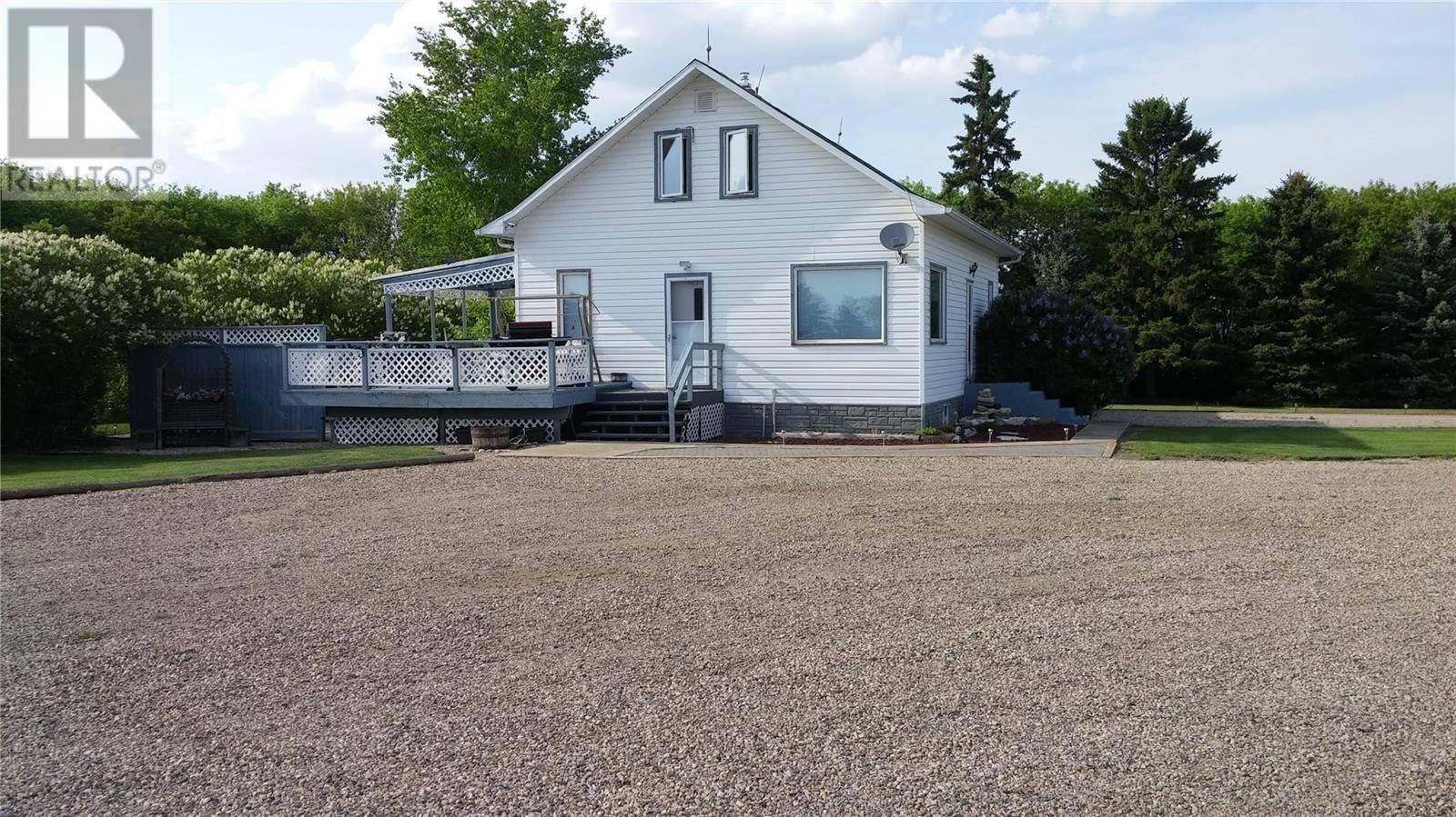 House for sale at  Sander Acreage  Colonsay Rm No. 342 Saskatchewan - MLS: SK795351