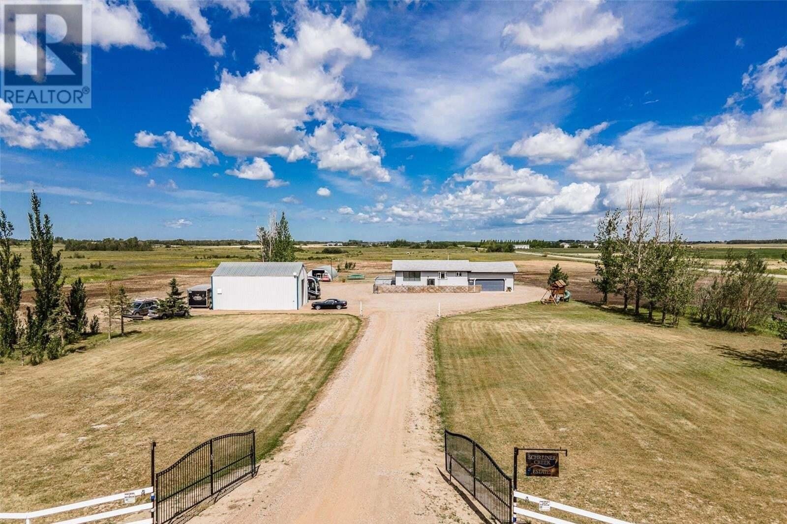 House for sale at Schreiner Creek Estates Corman Park Rm No. 344 Saskatchewan - MLS: SK819738