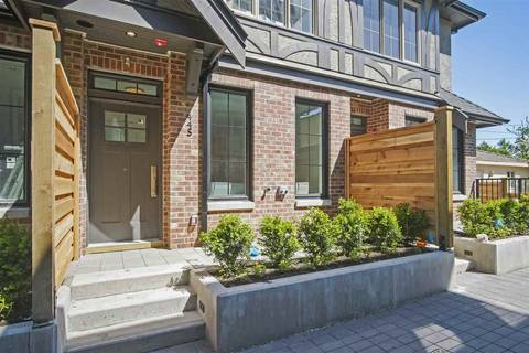Townhouse for sale at 443 63 Ave W Unit SL3 Vancouver British Columbia - MLS: R2373167
