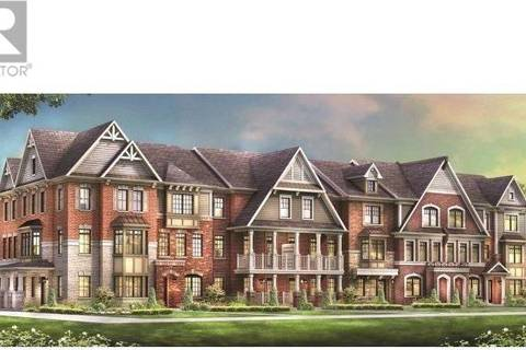 Townhouse for sale at 10945 Woodbine Ave Unit Tbd Markham Ontario - MLS: N4420707
