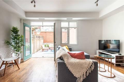 Apartment for rent at 500 Richmond St Unit Th 127 Toronto Ontario - MLS: C4667734