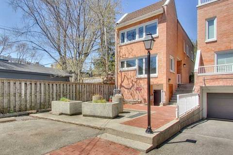 Townhouse for sale at 390 Wellesley St Unit Th 4 Toronto Ontario - MLS: C4445702