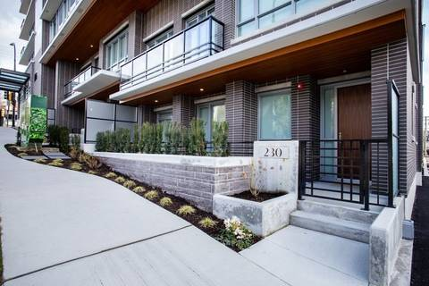Condo for sale at 238 Chesterfield Ave Unit TH1 North Vancouver British Columbia - MLS: R2450995