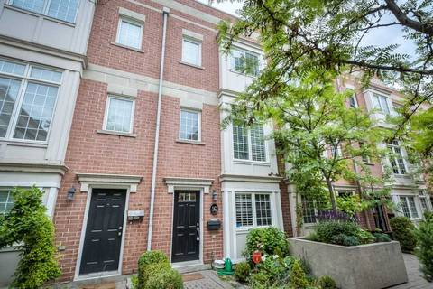 Townhouse for rent at 6 Wellesley Pl Unit Th16 Toronto Ontario - MLS: C4497612