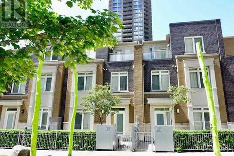 Townhouse for rent at 370 Square One Dr Unit Th26 Mississauga Ontario - MLS: W4489161
