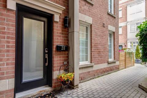Townhouse for rent at 6 Wellesley Pl Unit Th28 Toronto Ontario - MLS: C4629577
