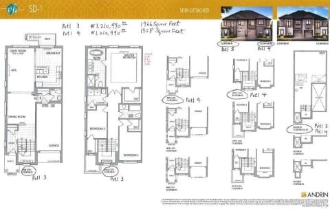 Townhouse for sale at Potl 3 Village Homes On  Unit The Ave Markham Ontario - MLS: N4981873