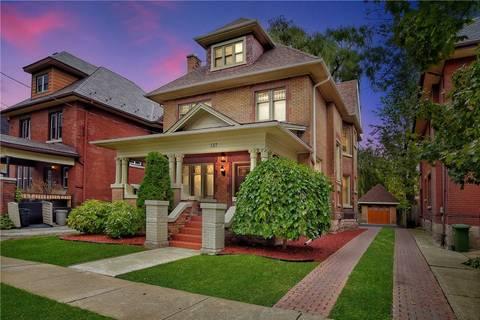 Townhouse for rent at 137 Sherman Ave Unit Unit 1 Hamilton Ontario - MLS: X4751360