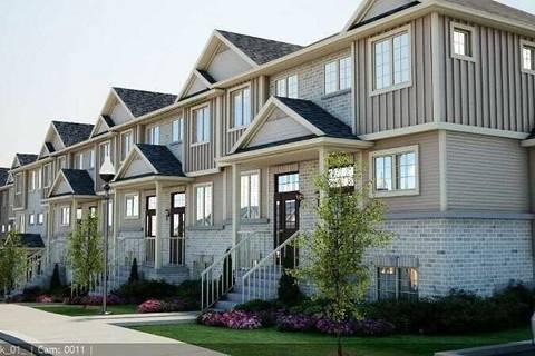 Townhouse for sale at 350 Dundas St Unit Unit 17 Cambridge Ontario - MLS: X4425260