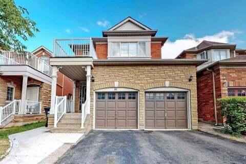 House for rent at 10 Legacy Ln Unit Upper Brampton Ontario - MLS: W4845439