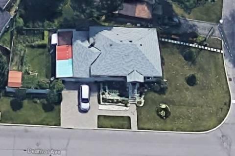 House for rent at 11 Deanvar Ave Unit Upper Toronto Ontario - MLS: E4511054