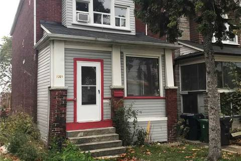House for rent at 1301 Dupont-upper Level St Unit Upper Toronto Ontario - MLS: W4673421