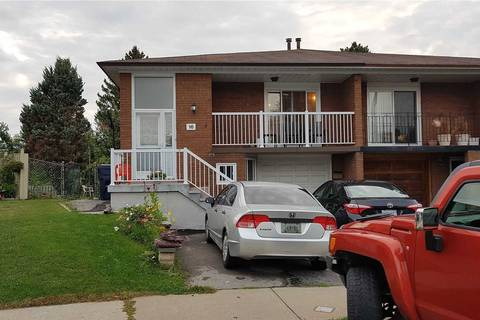 Townhouse for rent at 16 Kingsdown Dr Unit Upper Toronto Ontario - MLS: E4580533