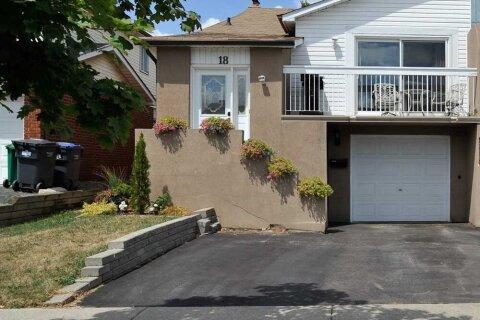 Townhouse for rent at 18 Elderwood Pl Unit Upper Brampton Ontario - MLS: W4997322