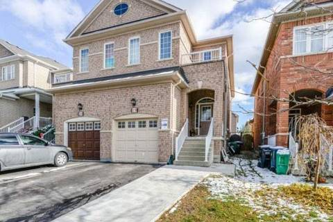 Townhouse for rent at 19 Silent Pond Cres Unit Upper Brampton Ontario - MLS: W4669506