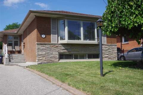 House for rent at 20 Gander Dr Unit Upper Toronto Ontario - MLS: E4954413