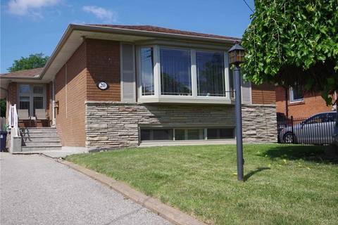 House for rent at 20 Gander Dr Unit Upper Toronto Ontario - MLS: E4534901