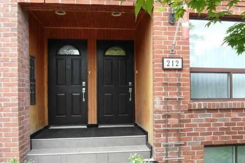 Townhouse for rent at 212 Glebemount Ave Unit Upper Toronto Ontario - MLS: E4515423