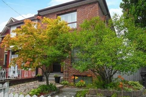 Townhouse for rent at 212 Glebemount Ave Unit Upper Toronto Ontario - MLS: E4602006